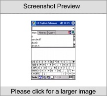 LingvoSoft Talking Dictionary English <-> Estonian for Pocket PC Screenshot